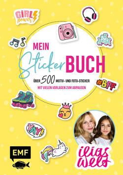 Ilias Welt – Mein Stickerbuch: Über 800 trendy Sticker für Fans von Ilia und Arwen von Ilias Welt