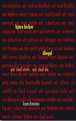 Illegal von Bicker,  Björn