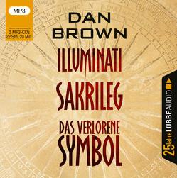 Illuminati / Sakrileg / Das verlorene Symbol von Brown,  Dan, Pampel,  Wolfgang