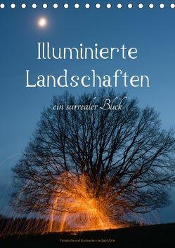 Illuminierte Landschaften – Ein surrealer Blick (Tischkalender 2018 DIN A5 hoch) von U. Irle,  Dag
