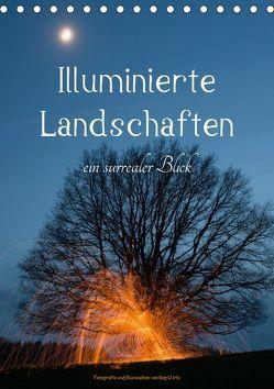 Illuminierte Landschaften – Ein surrealer Blick (Tischkalender 2019 DIN A5 hoch)