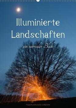 Illuminierte Landschaften – Ein surrealer Blick (Wandkalender 2018 DIN A2 hoch) von U. Irle,  Dag