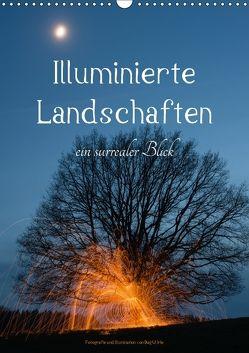 Illuminierte Landschaften – Ein surrealer Blick (Wandkalender 2018 DIN A3 hoch) von U. Irle,  Dag