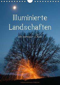 Illuminierte Landschaften – Ein surrealer Blick (Wandkalender 2018 DIN A4 hoch) von U. Irle,  Dag