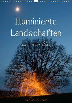 Illuminierte Landschaften – Ein surrealer Blick (Wandkalender 2019 DIN A3 hoch) von U. Irle,  Dag