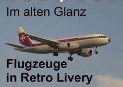 Im alten Glanz: Flugzeuge in Retro Livery (Wandkalender 2019 DIN A2 quer) von Heilscher,  Thomas