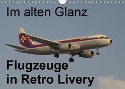 Im alten Glanz: Flugzeuge in Retro Livery (Wandkalender 2019 DIN A4 quer) von Heilscher,  Thomas