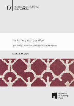 Im Anfang war das Wort von Blum ,  Kerstin F. M.