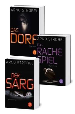 Im Angesicht des Grauens: Die Bestseller »Der Sarg«, »Das Rachespiel« und »Das Dorf« in einem E-Book von Strobel,  Arno