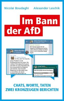 Im Bann der AfD von Boudaghi,  Nicolai, Leschik,  Alexander, Löer,  Wigbert