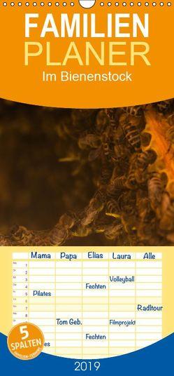 Im Bienenstock – Familienplaner hoch (Wandkalender 2019 , 21 cm x 45 cm, hoch) von Bangert,  Mark
