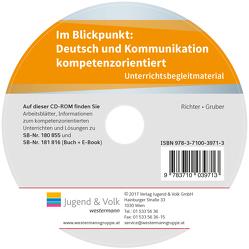 Im Blickpunkt: Deutsch und Kommunikation von Gruber,  Wolfgang, Richter,  Karin