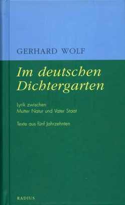 Im deutschen Dichtergarten von Wolf,  Gerhard