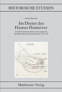 Im Dienst des Hauses Hannover von Klonowski,  Martin
