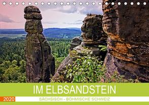 Im Elbsandstein – Sächsisch-böhmische Schweiz (Tischkalender 2020 DIN A5 quer) von Felix,  Holger