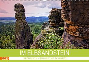 Im Elbsandstein – Sächsisch-böhmische Schweiz (Wandkalender 2020 DIN A2 quer) von Felix,  Holger