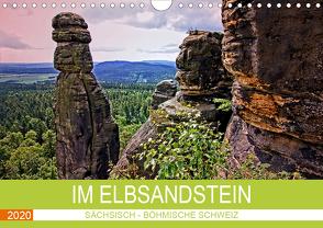 Im Elbsandstein – Sächsisch-böhmische Schweiz (Wandkalender 2020 DIN A4 quer) von Felix,  Holger