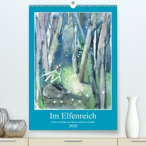 Im Elfenreich- Zauber und Magie der Elfen in schönen Aquarellen (Premium, hochwertiger DIN A2 Wandkalender 2020, Kunstdruck in Hochglanz) von Tiukkel,  Sveta