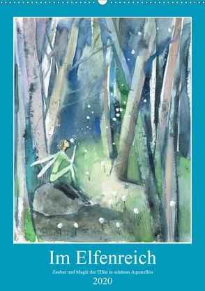 Im Elfenreich- Zauber und Magie der Elfen in schönen Aquarellen (Wandkalender 2020 DIN A2 hoch) von Tiukkel,  Sveta