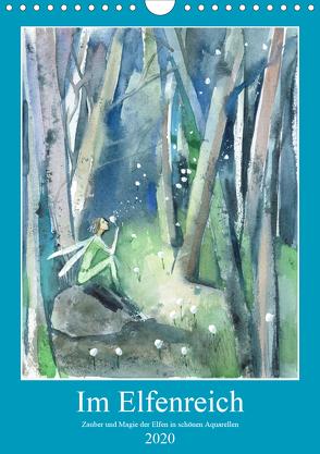 Im Elfenreich- Zauber und Magie der Elfen in schönen Aquarellen (Wandkalender 2020 DIN A4 hoch) von Tiukkel,  Sveta