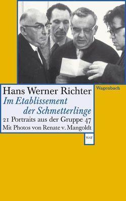 Im Etablissement der Schmetterlinge von Richter,  Hans Werner, von Mangoldt,  Renate
