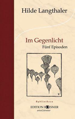 Im Gegenlicht von Langthaler,  Hilde
