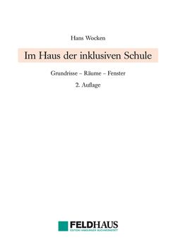 Im Haus der inklusiven Schule von Wocken,  Hans