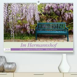 Im Hermannshof – Ein Traumgarten in Weinheim (Premium, hochwertiger DIN A2 Wandkalender 2020, Kunstdruck in Hochglanz) von Andersen,  Ilona