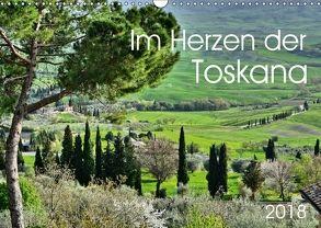 Im Herzen der Toskana (Wandkalender 2018 DIN A3 quer) von Heußlein,  Jutta