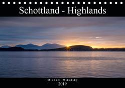 Im Hochland Schottlands (Tischkalender 2019 DIN A5 quer) von Mikulsky,  Michael