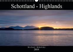 Im Hochland Schottlands (Wandkalender 2019 DIN A3 quer) von Mikulsky,  Michael
