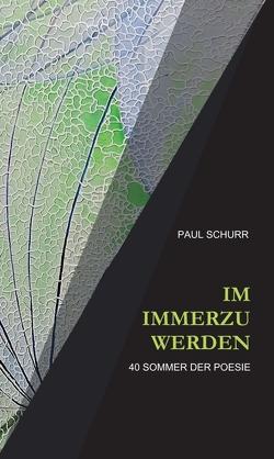 IM IMMERZU WERDEN von Schurr,  Paul