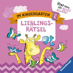 Im Kindergarten: Lieblingsrätsel von Jebautzke,  Kirstin, Koppers,  Theresia