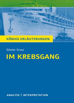 Im Krebsgang von Bernhardt,  Rüdiger, Grass,  Günter