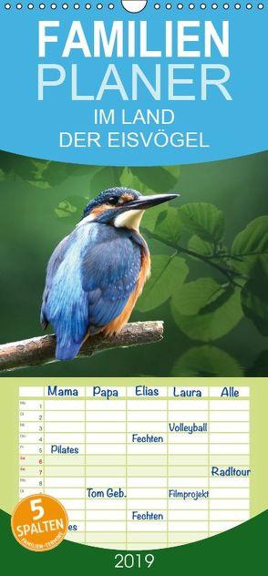 IM LAND DER EISVÖGEL – Familienplaner hoch (Wandkalender 2019 , 21 cm x 45 cm, hoch) von Lehmann,  Heiko