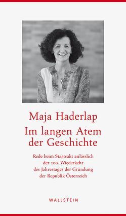 Im langen Atem der Geschichte von Haderlap,  Maja