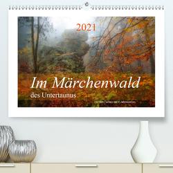 Im Märchenwald des Untertaunus (Premium, hochwertiger DIN A2 Wandkalender 2021, Kunstdruck in Hochglanz) von Rut Brè Designs,  Ana