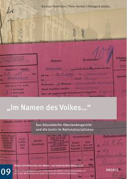 """Im Namen des Volkes…"" von Fleermann,  Bastian, Henkel,  Peter, Jakobs,  Hildegard"