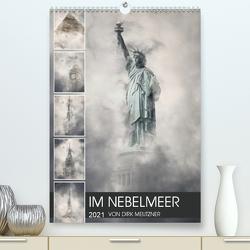 Im Nebelmeer (Premium, hochwertiger DIN A2 Wandkalender 2021, Kunstdruck in Hochglanz) von Meutzner,  Dirk