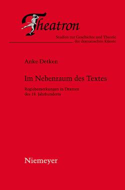 Im Nebenraum des Textes von Detken,  Anke