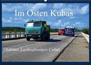 Im Osten Kubas – Oldtimer Lastkraftwagen Cubas (Wandkalender 2018 DIN A2 quer) von Janusz,  Fryc