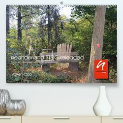 Im Rahmen. neanderlandSTEIG 2 (Premium, hochwertiger DIN A2 Wandkalender 2021, Kunstdruck in Hochglanz) von Rapp,  Volker