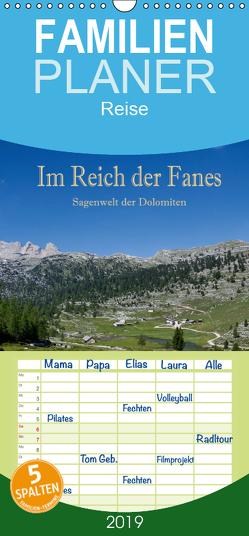 Im Reich der Fanes – Sagenwelt der Dolomiten – Familienplaner hoch (Wandkalender 2019 , 21 cm x 45 cm, hoch) von Pfleger,  Hans