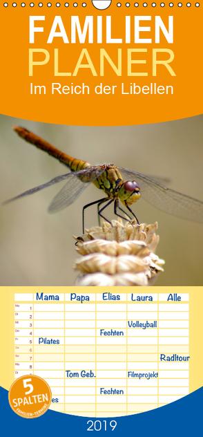 Im Reich der Libellen – Familienplaner hoch (Wandkalender 2019 , 21 cm x 45 cm, hoch) von Lehmann,  Heiko
