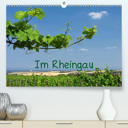 Im Rheingau (Premium, hochwertiger DIN A2 Wandkalender 2021, Kunstdruck in Hochglanz) von Dürr,  Brigitte