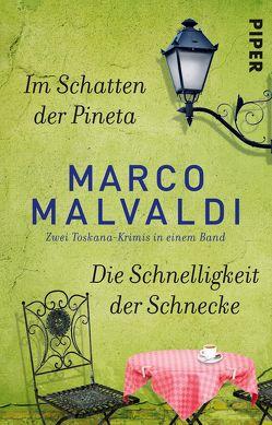 Im Schatten der Pineta / Die Schnelligkeit der Schnecke von Köpfer,  Monika, Malvaldi,  Marco, Zühlke,  Sigrun
