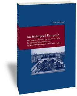 Im Schleppseil Europas? von Kolbinger,  Florian
