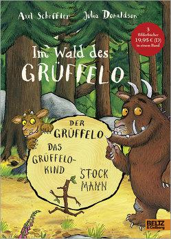 Im Wald des Grüffelo von Donaldson,  Julia, Droste,  Wiglaf, Maelck,  Stefan, Osberghaus,  Monika, Scheffler,  Axel