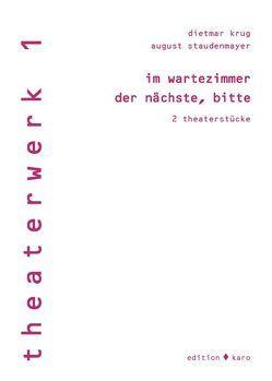 im wartezimmer von Krug,  Dietmar, Staudenmayer,  August