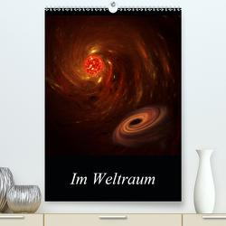 Im Weltraum (Premium, hochwertiger DIN A2 Wandkalender 2021, Kunstdruck in Hochglanz) von Gaymard,  Alain